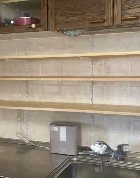 キッチン棚製作