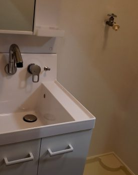 洗面台設置