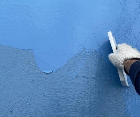 陸屋根のウレタン防水のメンテナンス時期と目安