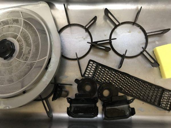 換気扇のクリーニング