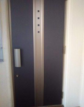 玄関ドア傷リペア
