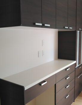 食器棚設置工事