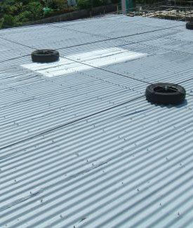 屋根トタン張替え