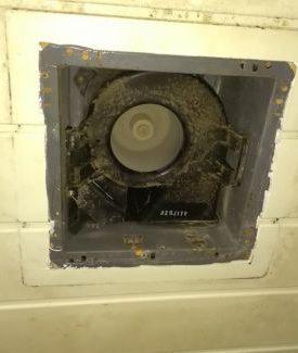 トイレ換気扇交換