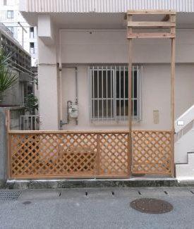 木製門扉造作