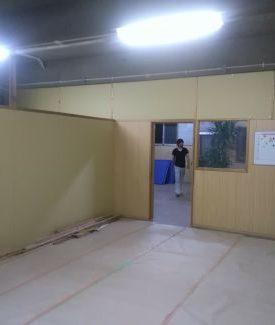 仕切り壁設置 リノベーション 間取り変更