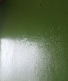 トイレ壁ペンキ塗装